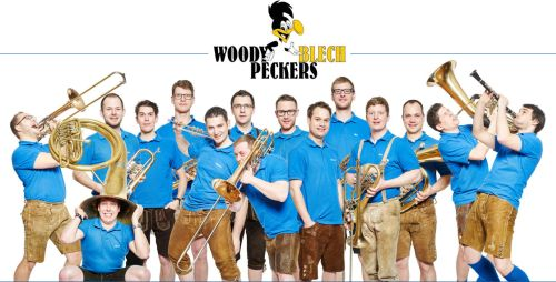 Woodyblechpeckers